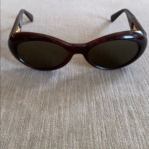 GIANNI VERSACE Vintage Sunglasses Brown / Gold